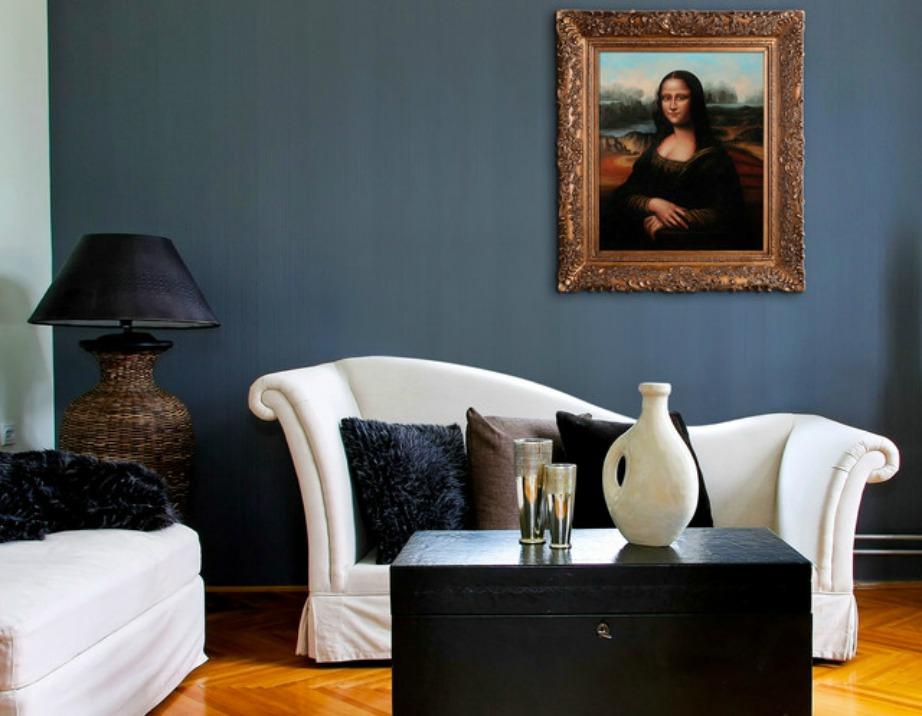 Τα ψεύτικα έργα τέχνης υποβαθμίζουν την εικόνα του σπιτιού σας.