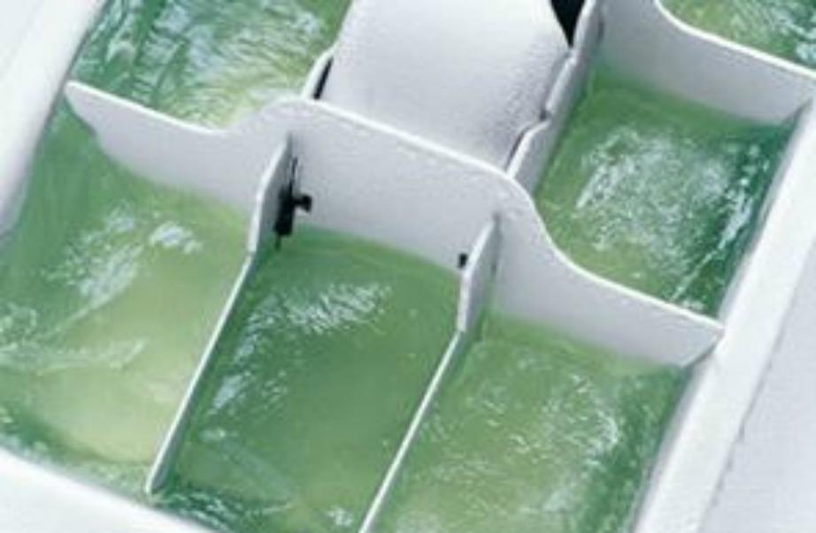 Τα παγάκια αλόης είναι πολύ εύχρηστα ειδικά για καψίματα.