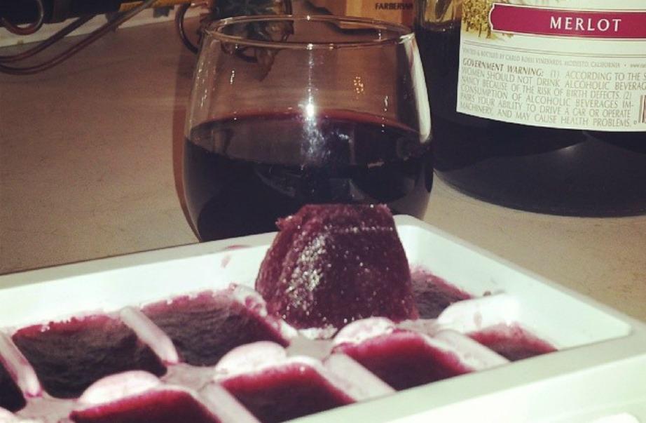 Παγάκια κρασιού για τη μαγειρική αλλά και το κρασί που πίνετε.
