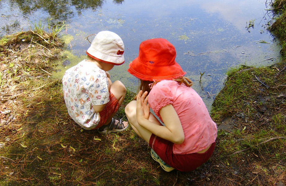 Τα παιδιά λατρεύουν την εξερεύνηση.