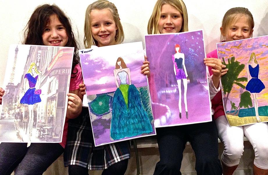 Βάλτε τα κοριτσάκια σας να γίνουν σχεδιάστριες. Θα εκπλαγείτε με το τι μπορούν να φτιάξουν!
