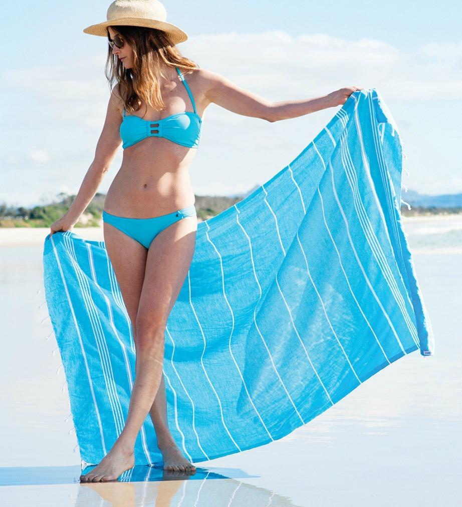 Διατηρήστε λαμπερό το χρώμα της πετσέτας σας