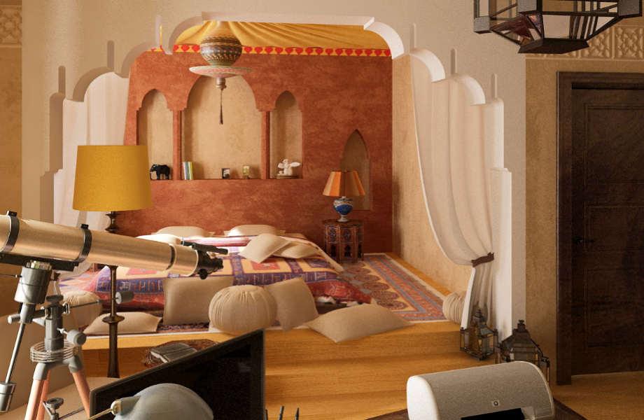 Παίξτε με ριχτάρια, έπιπλα και διακοσμητικά αξεσουάρ για να φέρετε το εξωτικό Μαρόκο στο σπίτι σας!