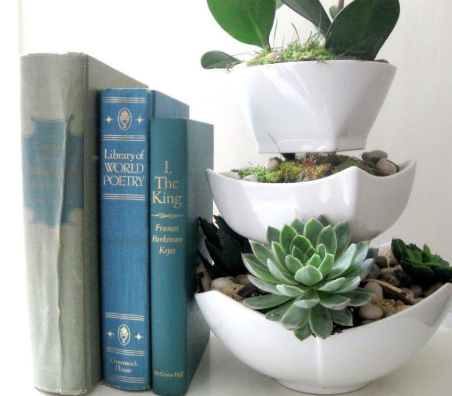 Μια εναλλακτική κατασκευή για φυτά.