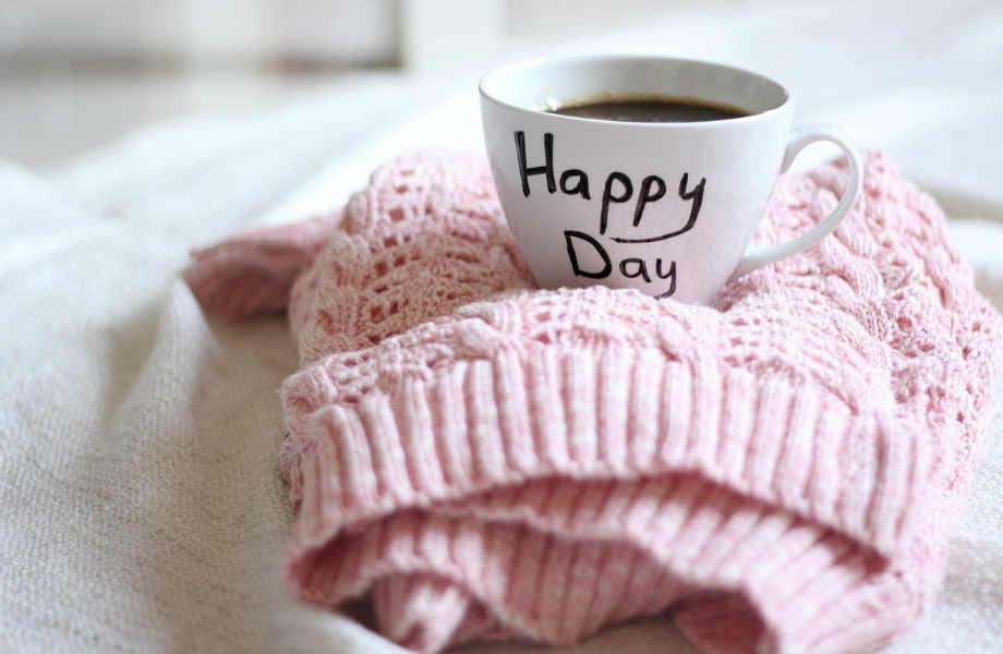 Ο καλύτερος τρόπος να ξεκινήσετε τη μέρα σας είναι (πράγματι) ένας καφές!