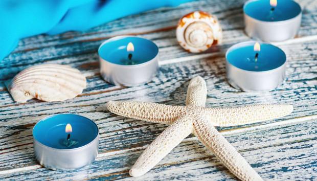 Φτιάξτε τα πιο Εύκολα και Οικονομικά Κεριά με το πιο Καλοκαιρινό Υλικό!