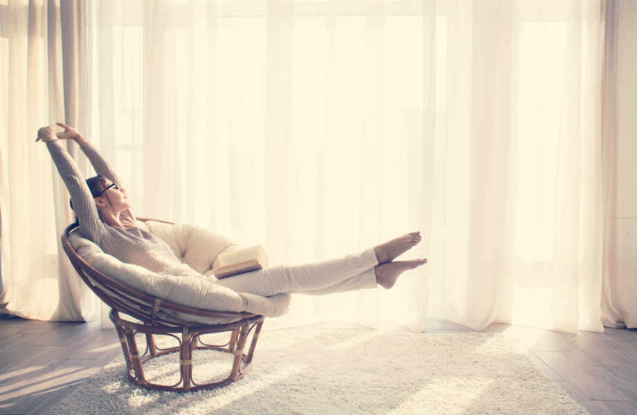 Η ηρεμία, η ξεκούραση και η παροδική μοναξιά μπορούν επίσης να φέρουν την ευτυχία.