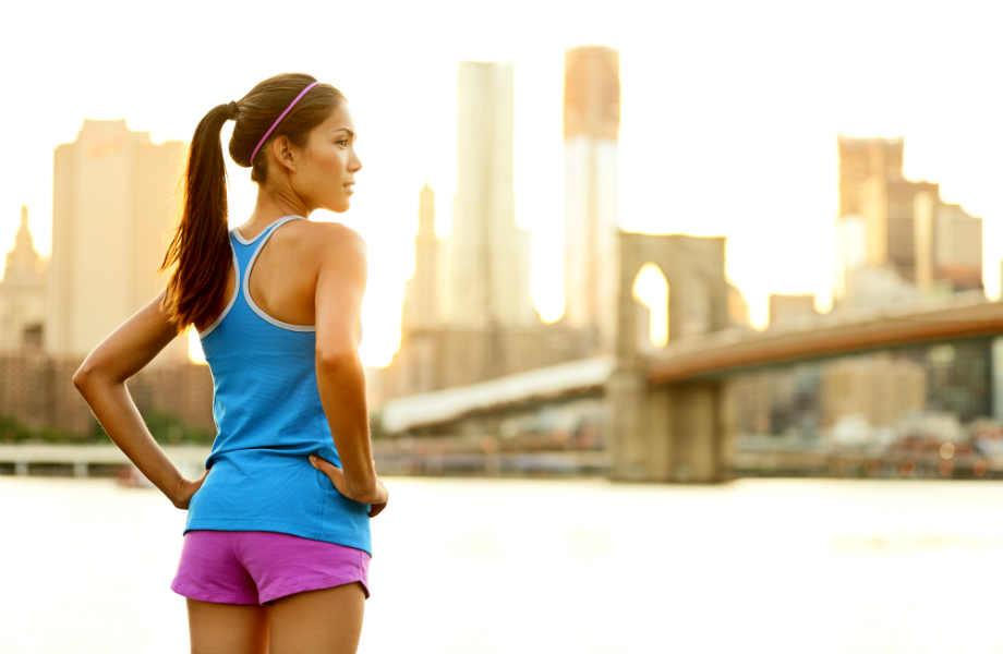 """Πείτε """"ναι"""" στα άνετα αλλά όχι στα πολύ φαρδιά ρούχα γυμναστικής αν θέλετε να μείνετε πιστοί στο γυμναστήριο."""