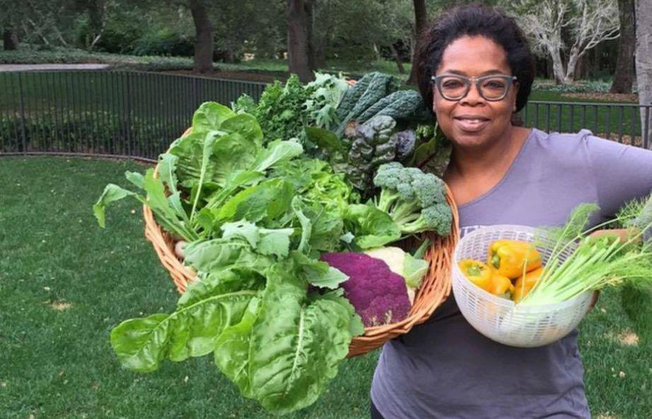 Η Oprah λατρεύει τη φάρμα της! Εκεί έχει όλων των ειδών τα λαχανικά, φρούτα, βότανα αλλά και πολλά ζώα.