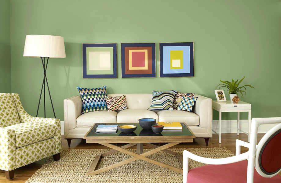 Φασκόμηλο για όλα! Το πλέον χαλαρό και ανακουφιστικό χρώμα για κάθε δωμάτιο αναμένεται να μπει δυναμικά στη διακόσμηση από τον Σεπτέμβριο.