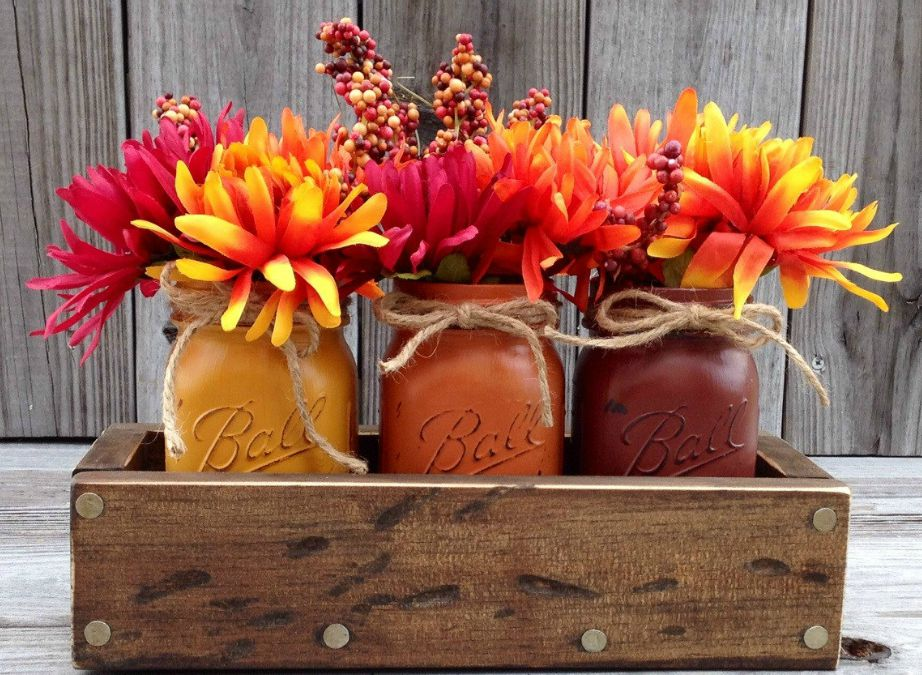 Υπάρχουν πολλά λουλούδια σε αποχρώσεις φθινοπωρινές που μπορούν να ενισχύσουν τη διακόσμηση του σπιτιού σας.