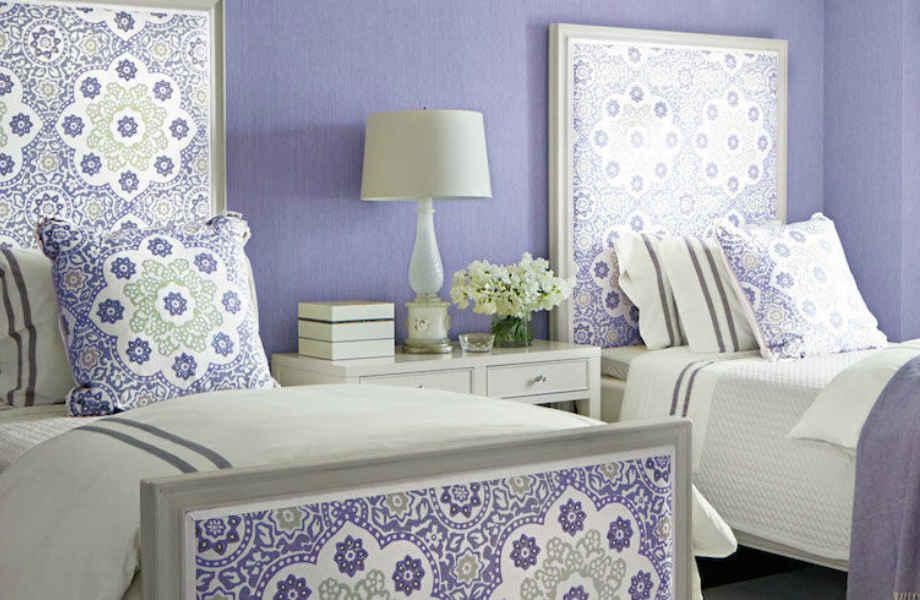 Χαλαρωτικό και πολυτελές, το μοβ είναι ιδανικό για κάθε υπνοδωμάτιο!