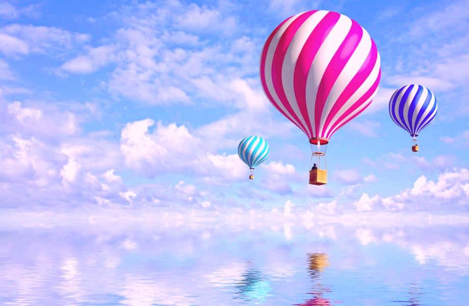 Μπορεί τα αερόστατα να μοιάζουν με γιγάντια μπαλόνια αλλά είναι λιγότερο θανατηφόρα από τα δεύτερα.