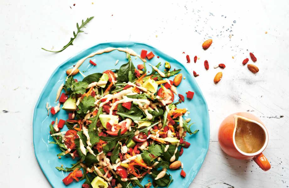 Το ουράνιο τόξο... της διατροφής δεν κάνει μόνο καλό στην υγεία σας αλλά και την επιδερμίδα σας.