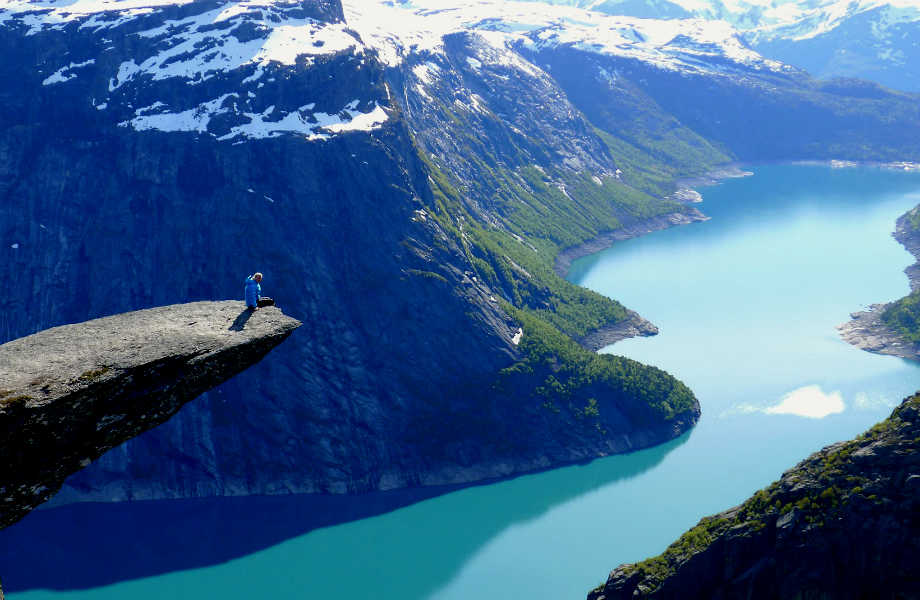Τrolltunga, Νορβηγία