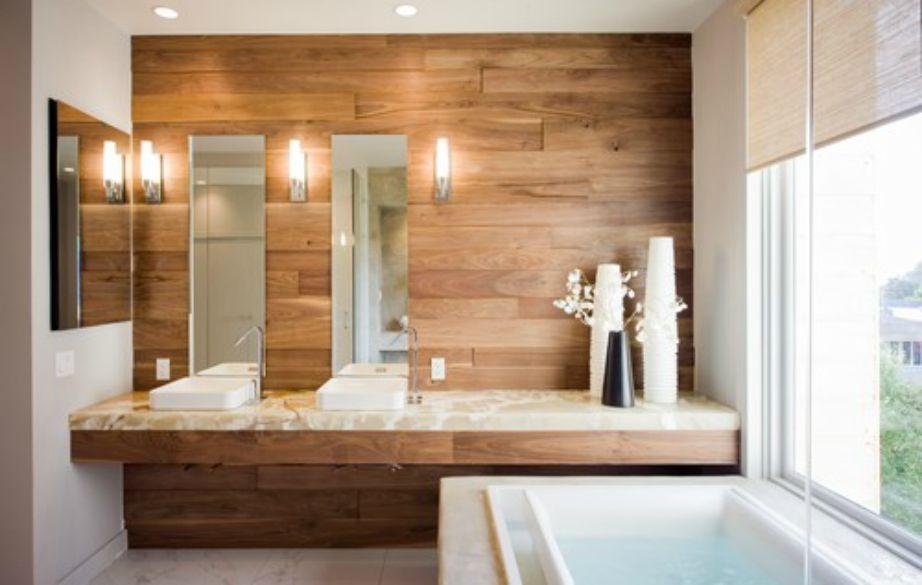 Επιλέξτε φυσικές αποχρώσεις για τη διακόσμηση του μπάνιου σας.