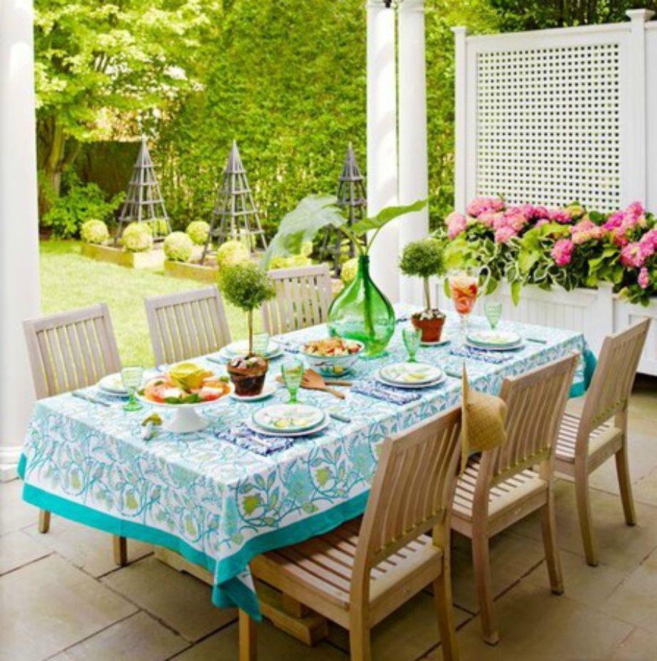 Ο πανέμορφος κήπος της Brooke Shields.