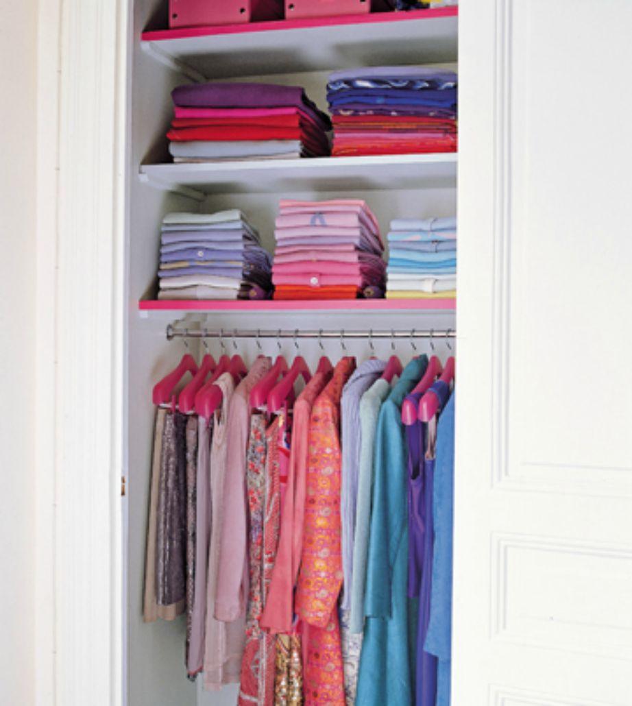 Οργανώστε σωστά την ντουλάπα σας.