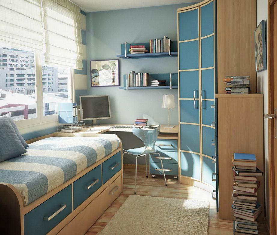 Ακόμα και αν το δωμάτιο είναι υπερβολικά μικρό, και πάλι μπορείτε να δημιουργήσετε με έξυπνα τιπς ένα πολύ ωραίο εφηβικό δωμάτιο.