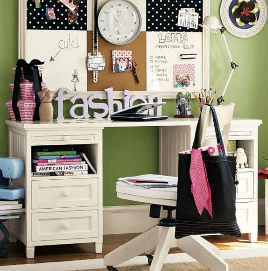 Αν το παιδί σας αγαπάει πολύ τη μόδα, φτιάξτε του ένα δωμάτιο που θα το εμπνεύσει.