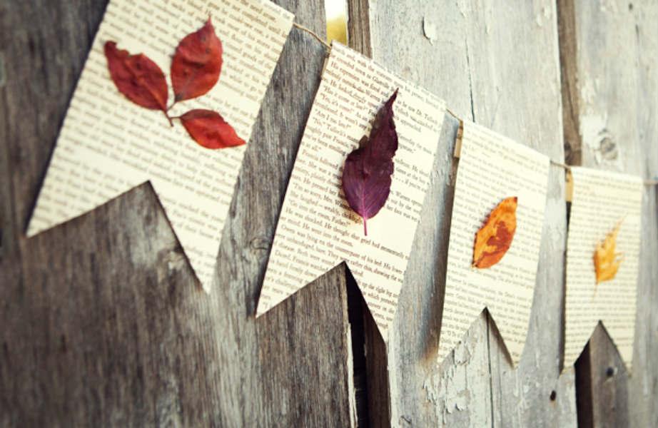 Κι όμως αρκεί μια γιρλάντα για να φέρει το... φθινόπωρο με στυλ στο σπίτι σας!