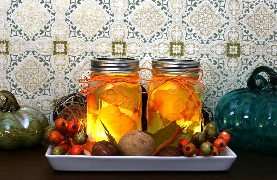 Μαζέψτε φύλλα και κλαδιά και φτιάξτε τα πιο πρωτότυπα φαναράκια!