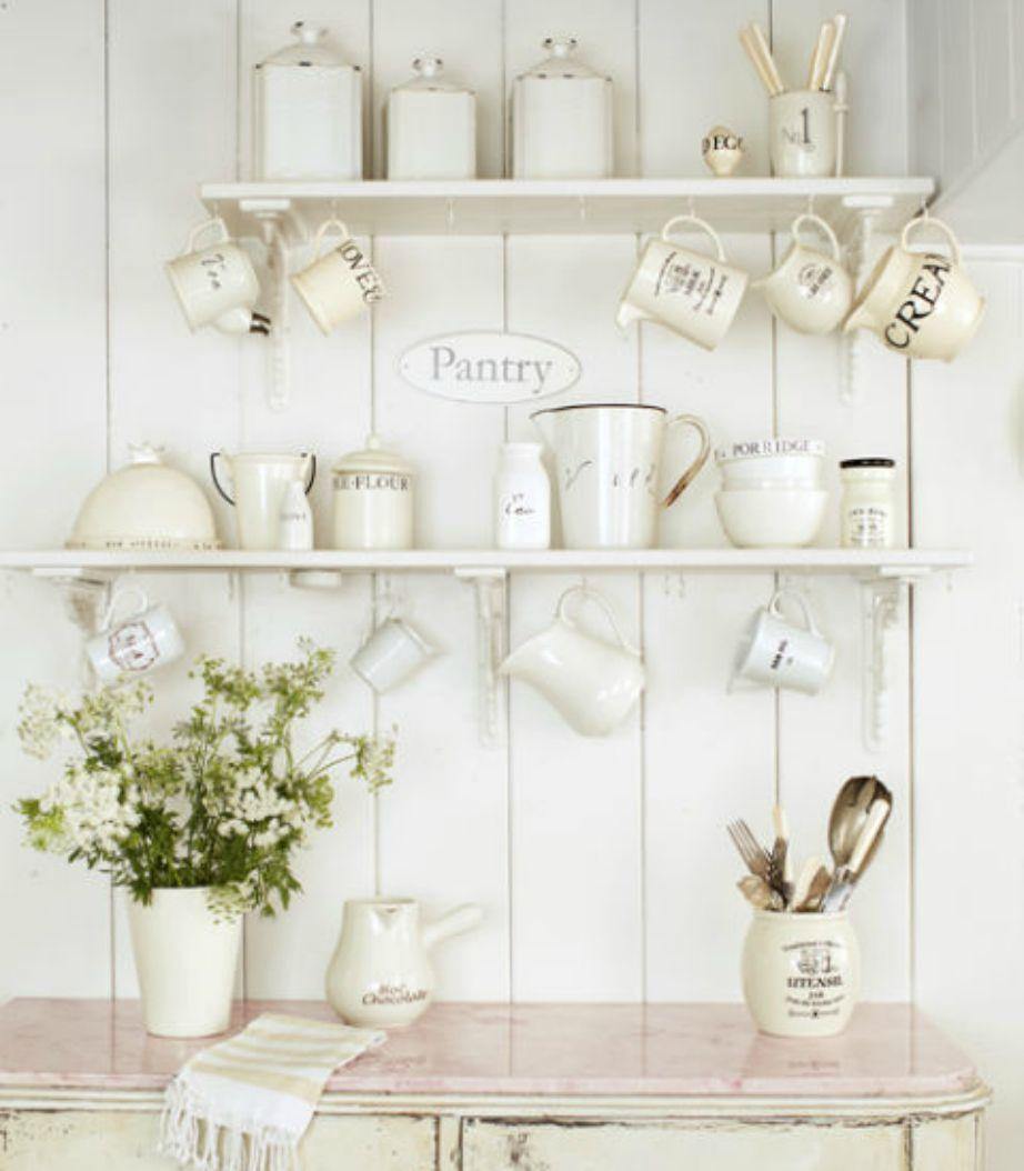 Είστε λάτρης του καφέ και του τσαγιού, φτιάξτε μια όμορφη γωνιά σαν αυτή της εικόνας, στην κουζίνα σας.