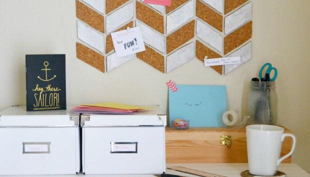6 πανέξυπνοι diy τρόποι για να οργανώσετε το γραφείο σας (και να αγαπήσετε λίγο παραπάνω τη δουλειά σας)
