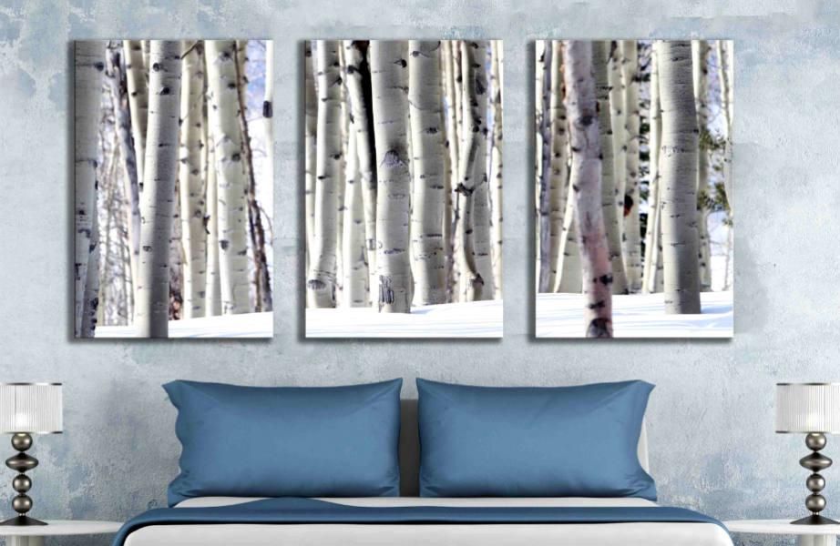 Οι φωτογραφίες και αφίσες είναι ιδανικές για να καλύψετε έναν μεγάλο τοίχο.