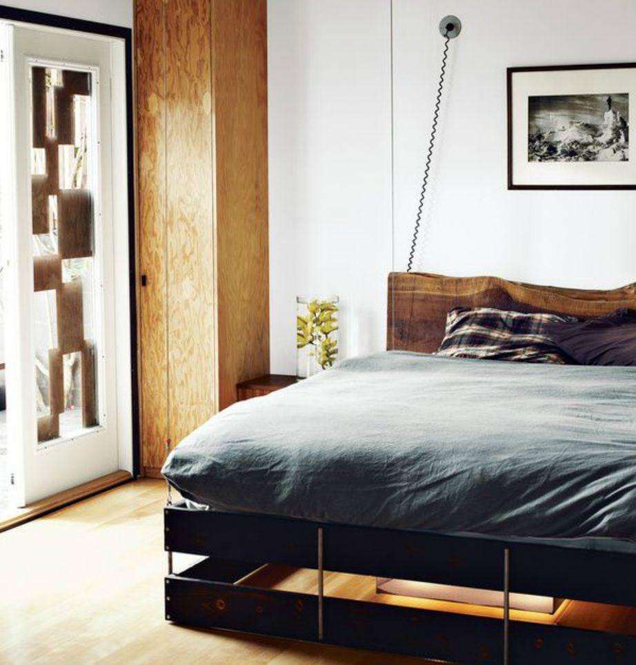 Η μίνιμαλ διακόσμηση είναι η πιο ασφαλής επιλογή για ένα εργένικο σπίτι.