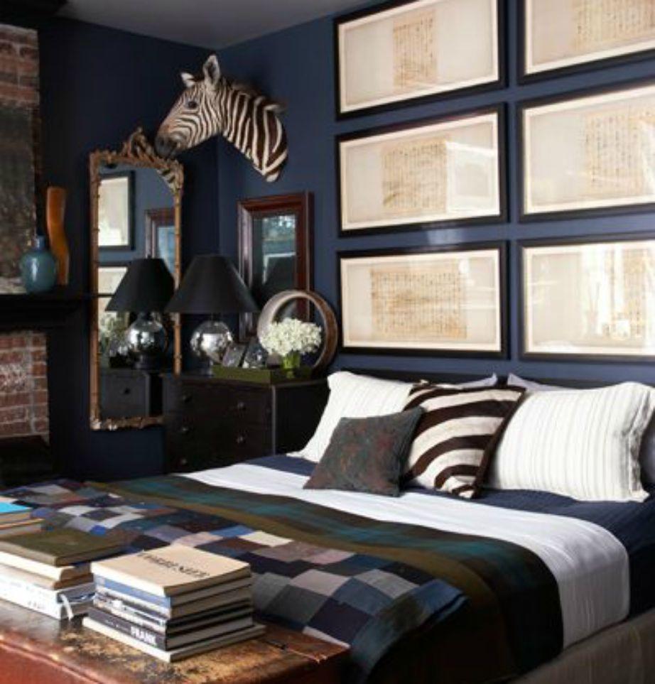 Αν ψάχνετε για αποχρώσεις για το υπνοδωμάτιό σας η απάντηση είναι μια. Γκρι και μπλε!