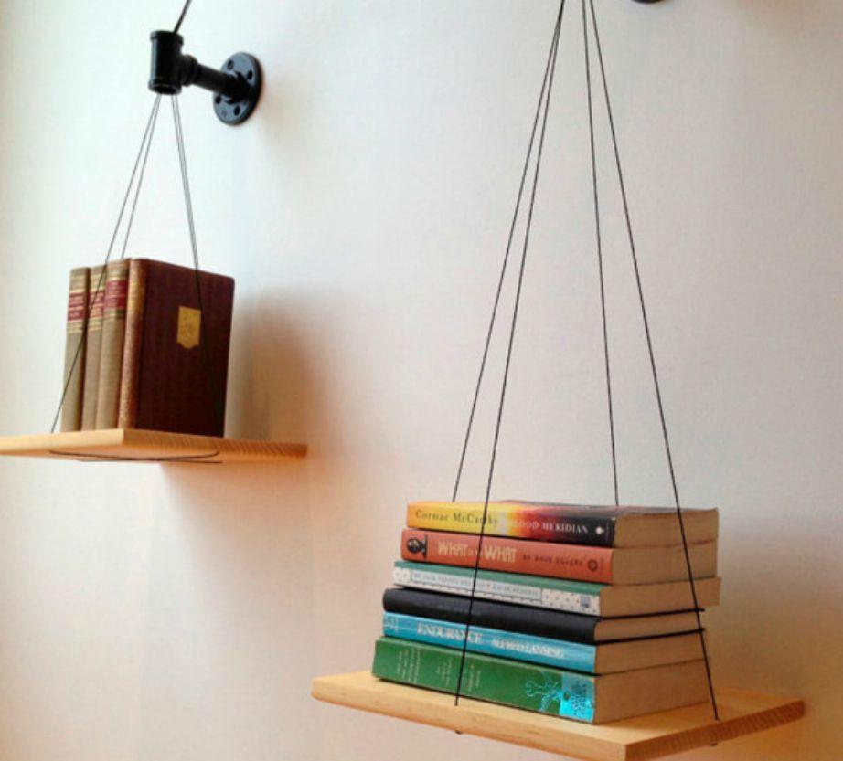 Αν δεν είστε φαν του πολύ διαβάσματος αλλά θέλετε να έχετε μια μορφή βιβλιοθήκης στο σπίτι σας, τότε εμπνευστείτε από αυτό το diy project.
