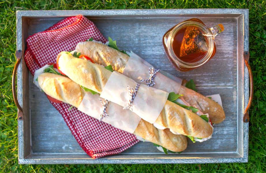 Μεσημεριανό στο γραφείο; Η μπαγκέτα αποτελεί τη πιο νόστιμη και υγιεινή λύση!