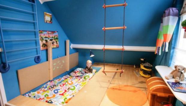 Υπνοδωμάτιο και Play Room – Δυο σε Ένα Χωρίς Πολλά Έξοδα!