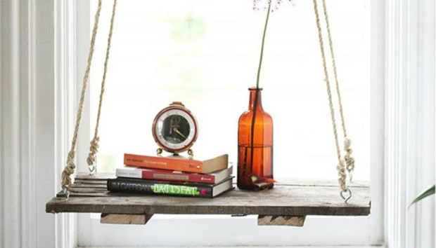 DIY: Ένα Ξεχωριστό Ράφι που θα Μεταμορφώσει το Σπίτι σας