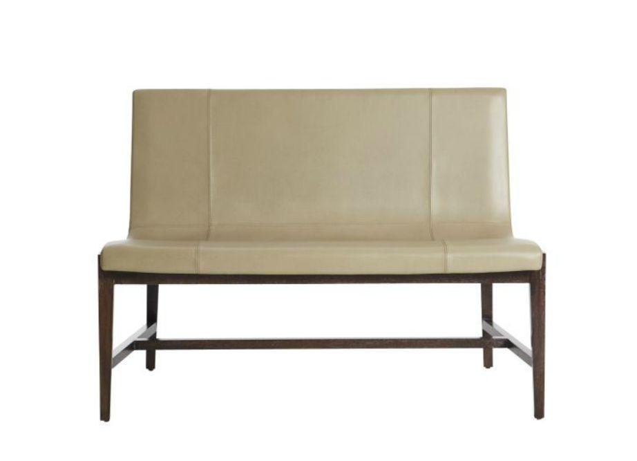 Επιλέξτε δέρμα σε μικρούς καναπέδες και αποφύγετέ το σε μεγάλους.