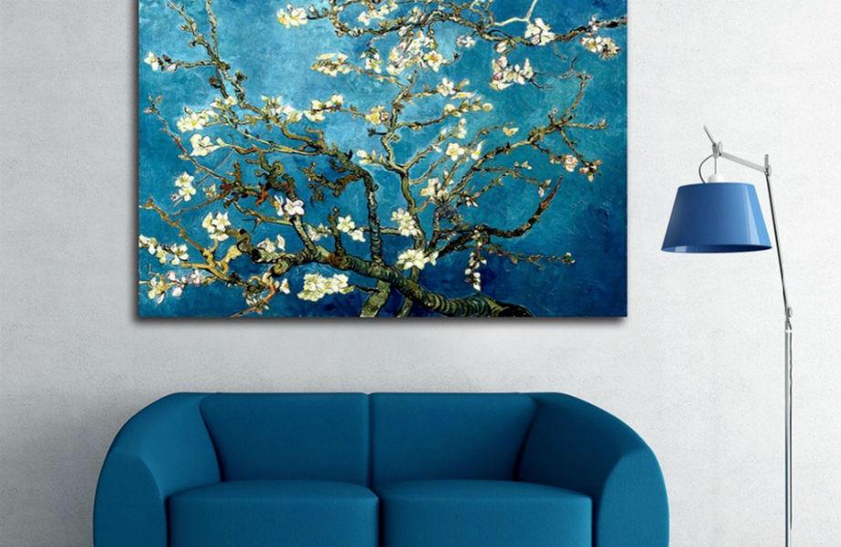 Δεν είναι απαραίτητο να είναι Βαν Γκογκ, αλλά το πρώτο σας έργο τέχνης θα σας ακολουθεί σε κάθε νέο σπίτι.