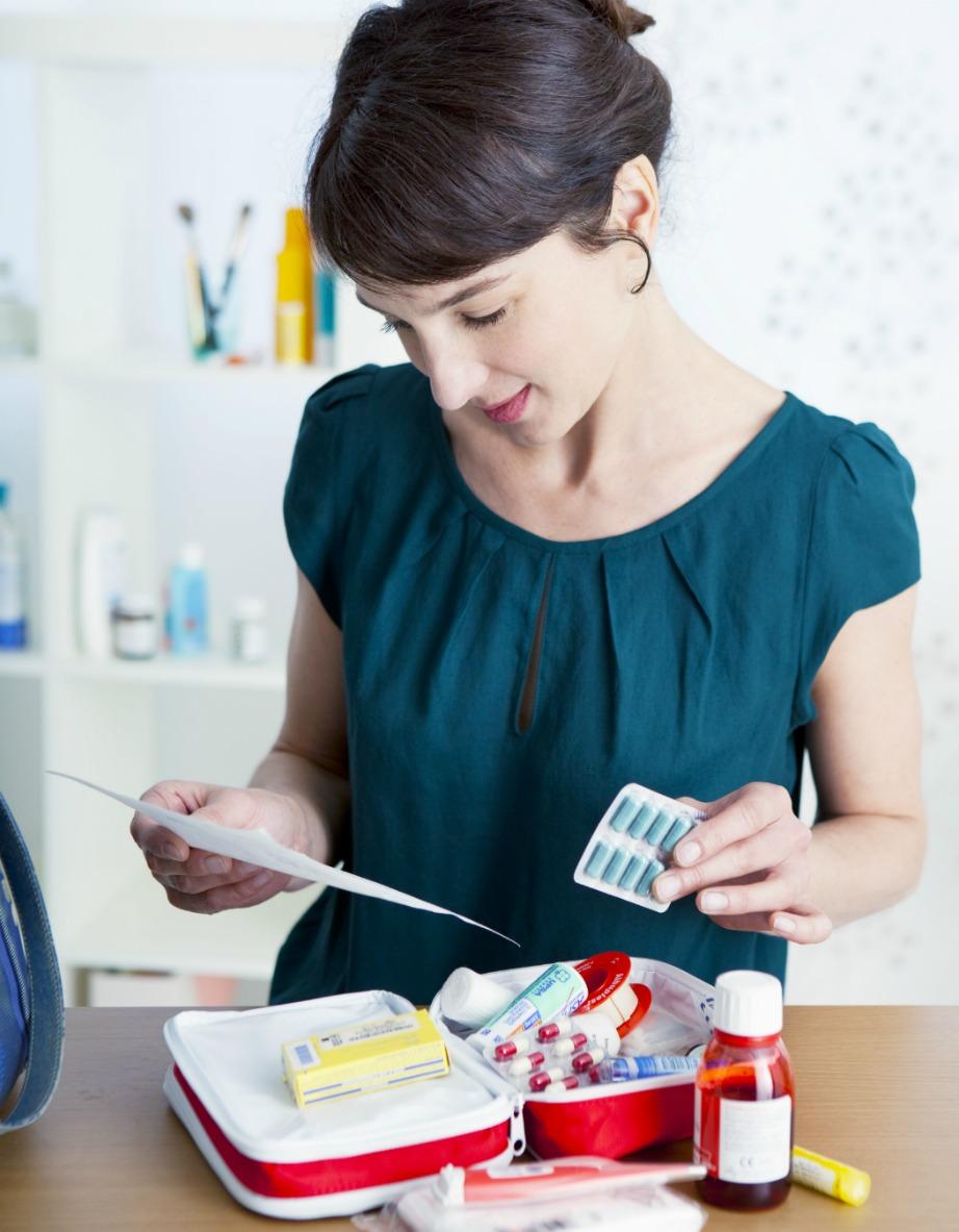 Ένα βαλιτσάκι με φάρμακα και γάζες είναι απαραίτητο σε κάθε σπίτι. Ελέγξτε μόνο τακτικά ώστε να μην λήξουν τα φάρμακά σας.