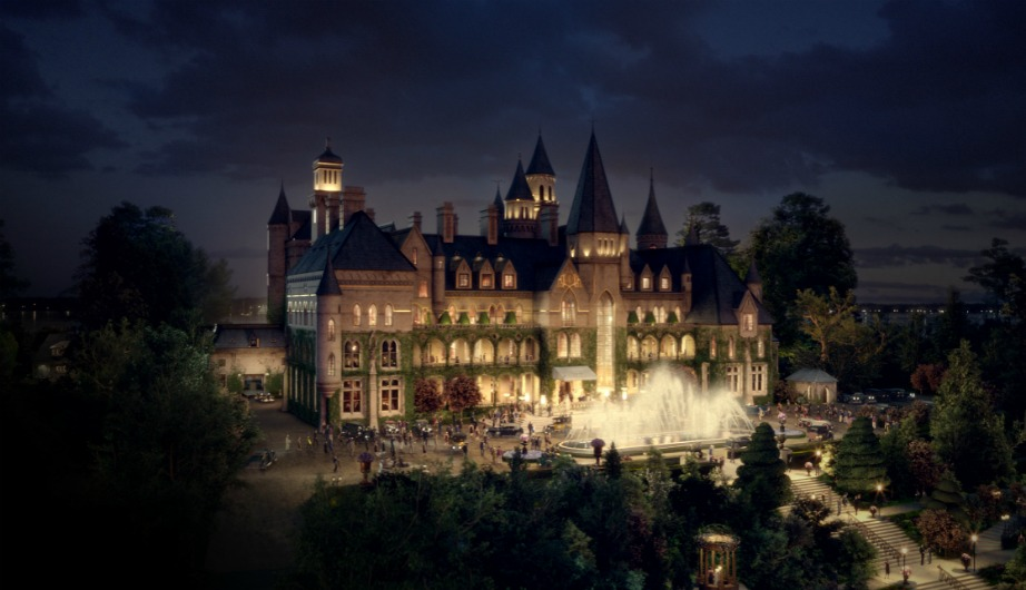 Αυτό το σπίτι είναι ένα από τα πιο εντυπωσιακά που έχουμε δει ποτέ στον κινηματογράφο.