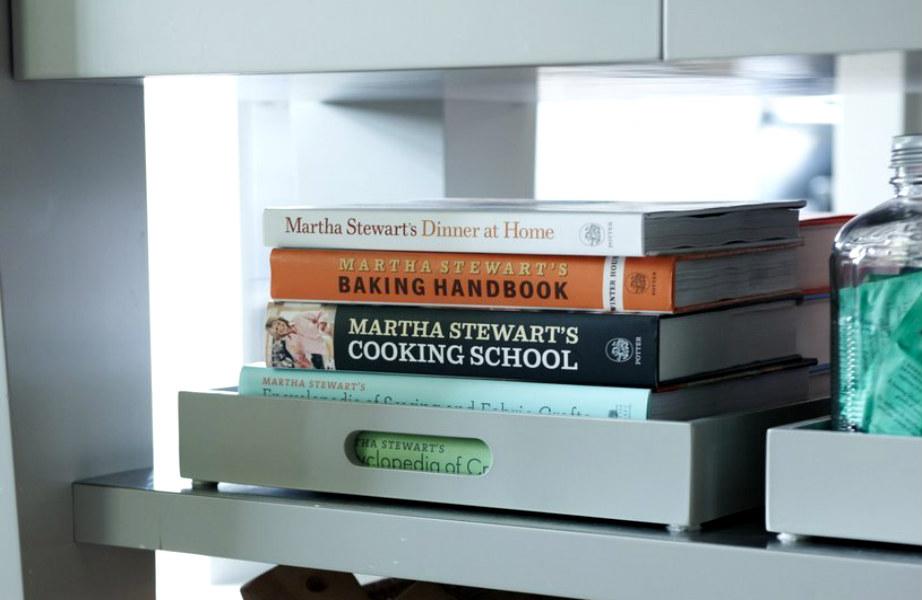 Βάλτε τα βιβλία μαγειρικής σας σε δίσκους και δε θα τα χάσετε ποτέ!