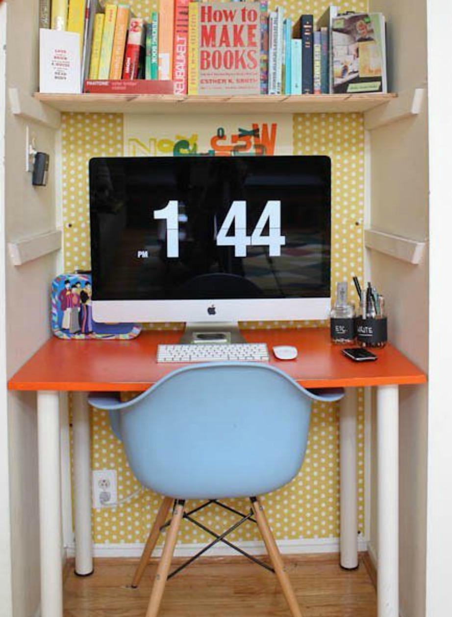 Καλή θέληση να υπάρχει και με σωστή διαμόρφωση ένα μικρό σπίτι μπορεί αν γίνει πολύ λειτουργικό.