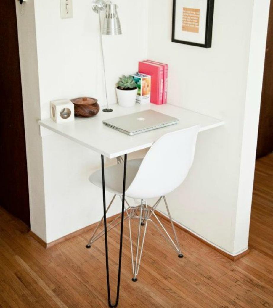 Αν θέλετε γραφείο, μπορείτε να το έχετε ακόμα και σε ένα μικροσκοπικό σπίτι.