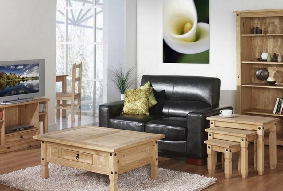 Παλαιότερα όλη η διακόσμηση του σαλονιού γινόταν με την ίδια ποιότητα ξύλου. Πλέον αυτό δεν είναι απαραίτητο.