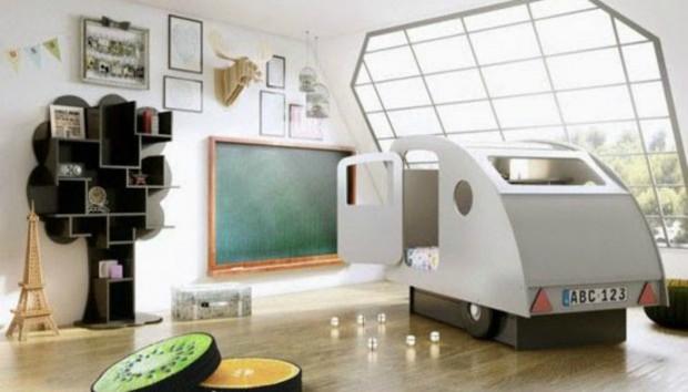 Φανταστικά Παιδικά Κρεβάτια που θα σας Πάρουν τα Μυαλά!