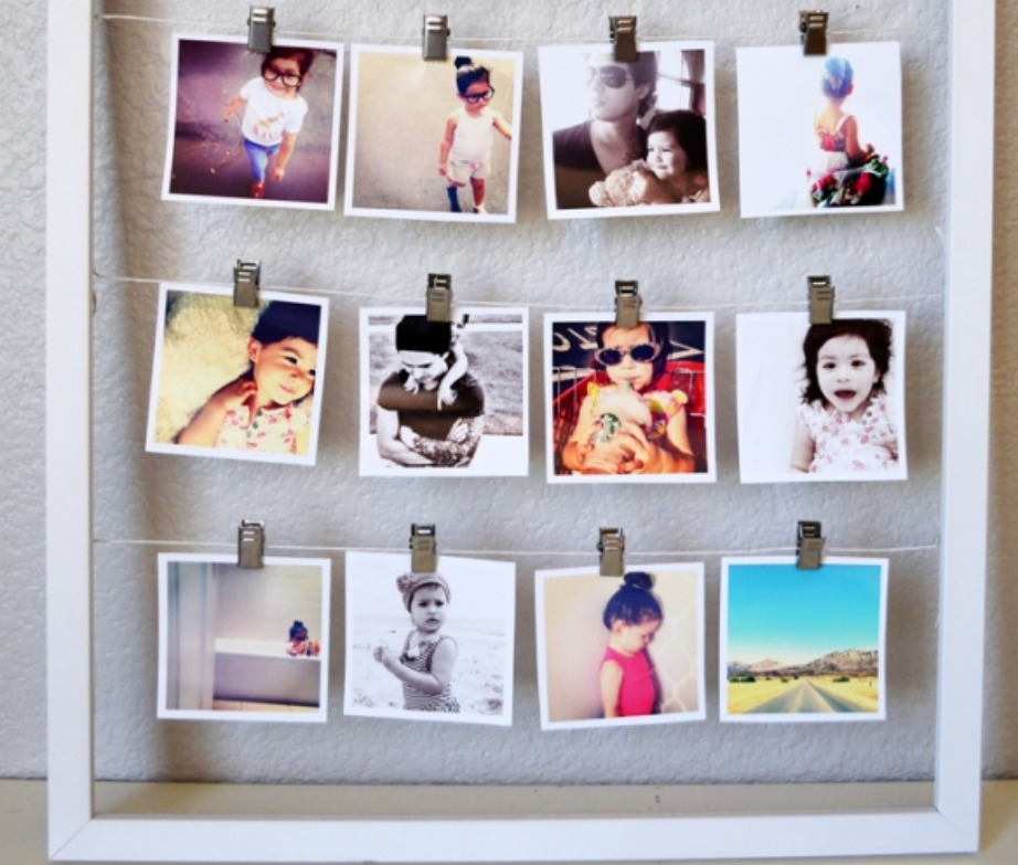 Φτιάξτε αυτόν τον όμορφο «πίνακα» χρησιμοποιώντας τις παλιές σας φωτογραφίες.