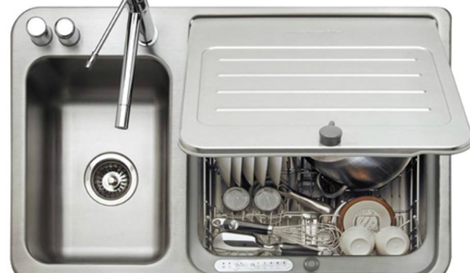 Αυτό είναι το νέο πλυντήριο πιάτων που μπαίνει στον νεροχύτη σας!