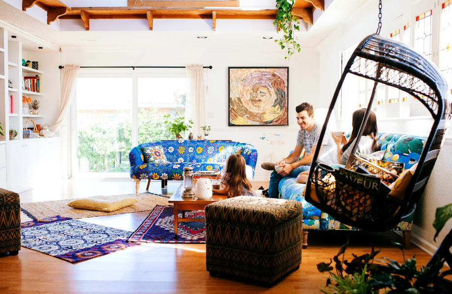 Το χαλί μπορεί να αποτελέσει πηγή έμπνευσης για τη συνολική διακόσμηση του χώρου σας.