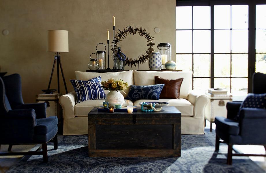"""Λέμε """"ναι"""" στο κλασικό, ηρεμιστικό και αρχοντικό μπλε."""