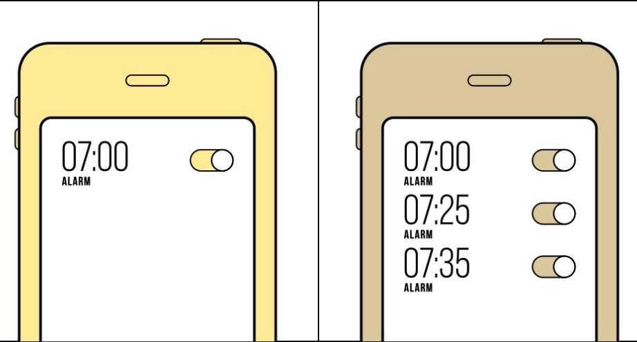 Πόσα ξυπνητήρια βάζετε στο κινητό σας;