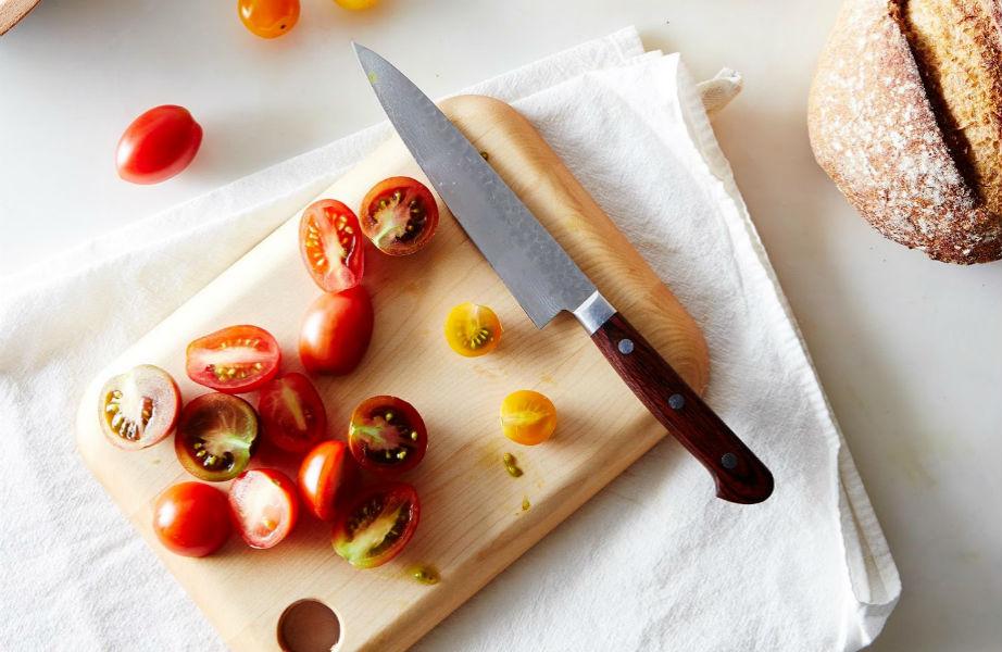 Ξίδι και μαχαίρια κουζίνας είναι συνδυασμός... ασύμβατος!